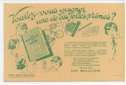 BUVARD PUBLICITE PRIMES JOUETS ALBUM IMAGES MERVEILLES DU MONDE TBE - Buvards, Protège-cahiers Illustrés