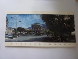 """Pieghevole Turistico Panoramico  """"CASTELLAMMARE DI STABIA"""" Anni '90 - Tourism Brochures"""