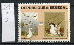 Sénégal 1981 Y&T N°548 - Michel N°742 (o) - 70f Parc De La Langue De Barbarie - Senegal (1960-...)