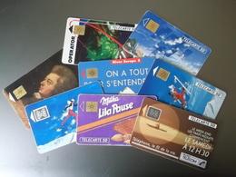 Lot De 192 Cartes Téléphoniques Dont 3 Disneyland. - Télécartes