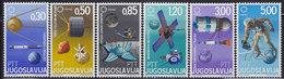 Yugoslavia 1967 Expo '67 Montreal, Canada - Cosmos, MNH (**) Michel 1216-1221 - 1967 – Montreal (Canada)