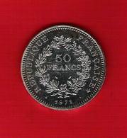 Pièce Argent 50 Francs Hercule 1978 Bel état - France