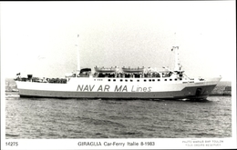 Cp Autofähre Giraglia, Navarma Lines - Schiffe