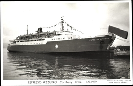 Cp Autofähre Espresso Azzurro, Ansicht Steuerbord - Schiffe