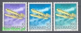 San Marino 1978 Mi 1165-1167 MNH ( ZE2 SMR1165-1167 ) - San Marino