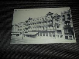 Wenduyne  Wenduine   Royal Palace Hôtel - Wenduine