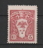 MiNr. 84 - 88  Vatikanstadt 1940, 11. März. Freimarken: Papst Pius XII. - Ungebraucht
