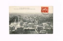 Panorama Du Quartier De La Gare Et Du Lycée.Expédié à POmmiers (Aisne) - Montlucon