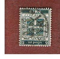 IRLANDA (IRELAND) -  SG 94  -  1932  INT. EUCHARISTIC CONGRESS - USED - Usati