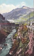 376/ Ferrovia Del Gottardo, Airolo, Cola Di Stalvedro, Goetz Phot. - TI Tessin