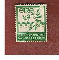IRLANDA (IRELAND) -  SG 98  -  1934 GAELIC ATHLETIC  ASSOCIATION: HURLER   - USED - Usati