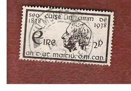 IRLANDA (IRELAND) -  SG 107  -  1938  FATHER MATHEW   - USED - 1937-1949 Éire