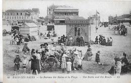Malo Les Bains. Le Bureau Des Bains Et La Plage De Malo Les Bains. - Malo Les Bains