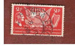 IRLANDA (IRELAND) -  SG 109  -  1939 G. WASHINGTON  - USED - 1937-1949 Éire