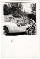 AUTO CAR VOITURE CICLISMO CYCLING - FOTO ORIGINALE ANNI '50 - Cars