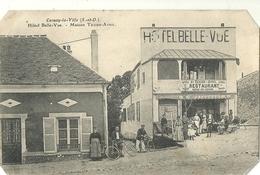 CERNAY La VILLE..  Hotel Belle Vue.  Maison Texier Avril. - Cernay-la-Ville
