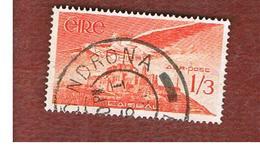 IRLANDA (IRELAND) -  SG 143a -  1954  ANGEL VICTOR OVER CASHELROCK  - USED - 1949-... Repubblica D'Irlanda