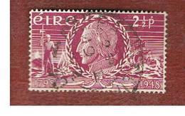 IRLANDA (IRELAND) -  SG 144 -  1948  150^ INSURRECTION ANNIVERSARY: T.W. TONE - USED - 1937-1949 Éire