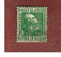 IRLANDA (IRELAND) -  SG 148 -  1949  J.C. MANGAN, POET - USED - 1937-1949 Éire
