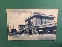 Cartolina Livorno - Stazione Ferroviaria - 1929 - Livorno