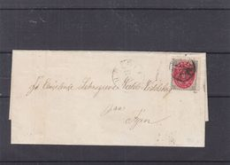 Danemark - Lettre De 1878  ? - Exp Vers Fyn - Cachets De Aasup Et Assens - 1864-04 (Christian IX)