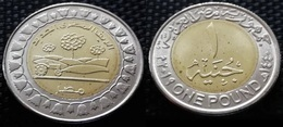 EGYPT - Recently Issued One Pound 2019 - The New Egyptian Countrysid - Egypt