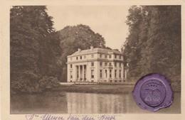 EDEGEM - Edeghem - Château Des Tilleuls ; Met Stempel Van Ringzegel Kasteelheer ( Meyer Van Den Bergh ) - Edegem