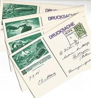AUTRICHE Les 10 EP Obl WIPA 1933 - Entiers Postaux