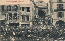 I74 - 88 - EPINAL - Vosges - Kermesse Du 17 Mars 1912 Au Profit De L'aviation - Epinal