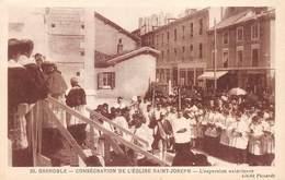 PIE-19-Mo-961 : GRENOBLE. CONSECRATION DE L'EGLISE SAINT-JOSEPH. - Grenoble
