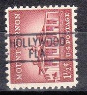 USA Precancel Vorausentwertung Preo, Locals Florida, Hollywood 812 - Precancels