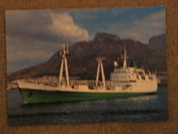 ST HELENA AT CAPE TOWN - Cargos