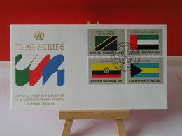 Nations Unies > Office De Genève - Tanzanie-Émirats Arabes Unis-Équateur-Bahamas - 21.9.1984 - FDC 1er Jour - FDC