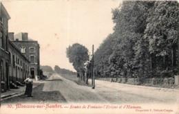 Monceau-sur-Sambre - Route De Fontaine-l' Evêque Et D' Hameau - Charleroi