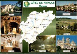 16 LA CHARENTE TOURISTIQUE  GITES DE FRANCE CHARENTE  MULTI-VUES - Autres Communes