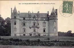 49 - LA SALLE-de-VIHIERS  - Château Du Plessis - - Frankrijk