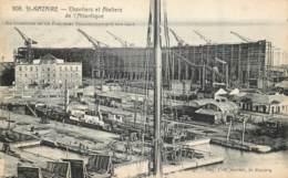 France - 44 - Saint-Nazaire - Chantiers Et Ateliers De L' Atlantique - Saint Nazaire