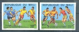 Mali 1990 MNH ( ZS5 MLI1130-1131B ) - Coupe Du Monde