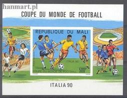 Mali 1990 MNH ( ZS5 MLIbl28B ) - Coupe Du Monde