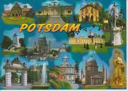 19 / 3 / 57  -  POSTDAM   -  BERLIN - BRANDENBURG  -  C. P. M.   MULTI- VUES  - C. P. M. - Potsdam