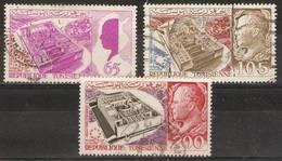 Tunisia - 1967 Montreal World Fair Used  SG 639-40 & 642 - Tunisia