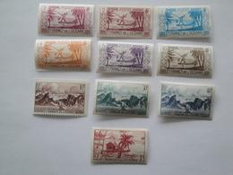 1939/49 Océanie Yv 83/9 +182/4 + 188 **  MNH Bateaux    Cote 3.80 €   Scott 81/6 - 160/2 - 166  Nuances Voir 3eme Photo - Océanie (Établissement De L') (1892-1958)