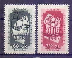 Poland 1958 Mi 1073-1074 MNH ( ZE4 PLD1073-1074 ) - Pologne