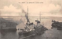 """¤¤  -  BREST  -  La """" Jeanne D'Arc """" Entrant Au Port   -  ¤¤ - Brest"""