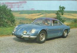 Coupé Alpine Renault - Cartes Postales