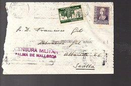 Cruzada Contra El Paro Palma De Mallorca Censura Military > Sevilla (8-29) - 1931-Aujourd'hui: II. République - ....Juan Carlos I