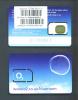 MALDIVES  -  Mint/Unused O2 SIM Chip Phonecard/Prepared For Use In The Maldives As Scan - Maldiven