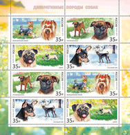 Russia. 2019  Decorative-room Dogs. Klb - Neufs