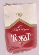 TOKAT- Turkish Empty Cigarettes Paper Box Around 1965 - Empty Cigarettes Boxes