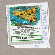 Italien - Privatpost - GPS Video Postcard - Karte Sizilien - Italy